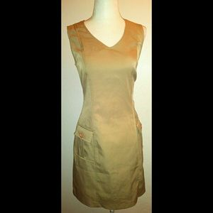 My Michelle Casual Tan Mini Dress Size 9/10